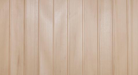 Wandverkleidung aus massiver Tannenschalung 16 mm stark