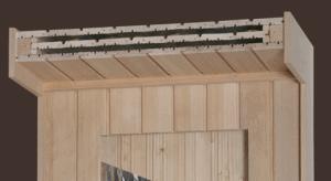 Patentierte Isoholzverkleidung für Wand und Decke