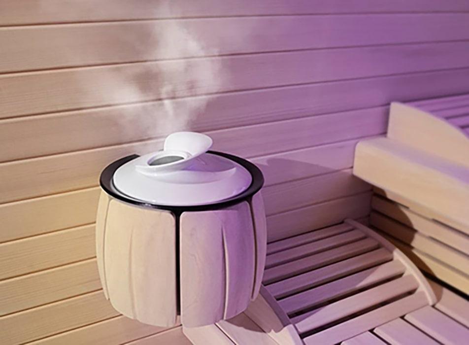 Meditherm der Dampferzueger für jede Sauna